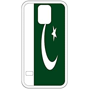 Pakistan Flag White Samsung Galaxy S5 Cell Phone Case - Cover