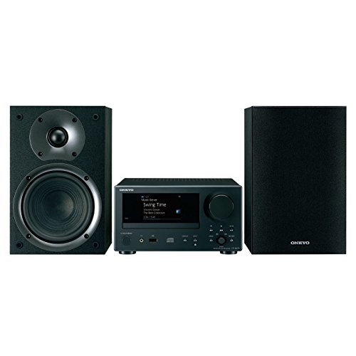 Onkyo Network Hi-Fi CD System Black (CS-N575) by Onkyo