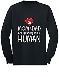 Getting Me a Human Big Brother Big Sister Gifts Toddler/Kids Long sleeve T-Shirt