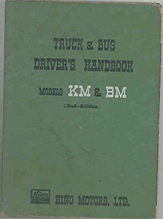 hino truck owners manual