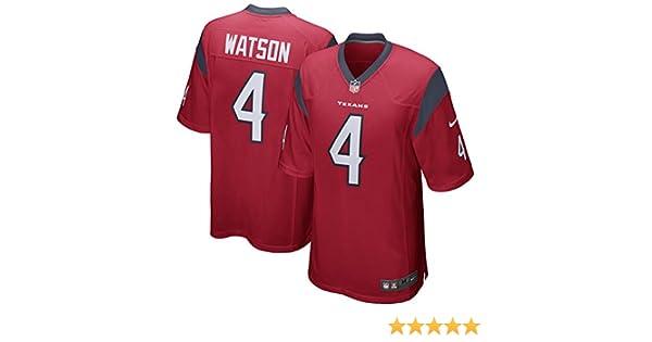 c1968d3f Nike Deshaun Watson Houston Texans Game Jersey Red