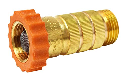Valterra Brass A01-1122VP High Flow Water Regulator (Carded)