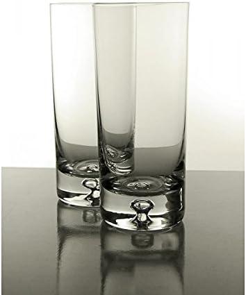 Juego de 4 Mojito de punta de bola de alta/de vasos de tubo 300 ml/10,14 oz caja de presentación