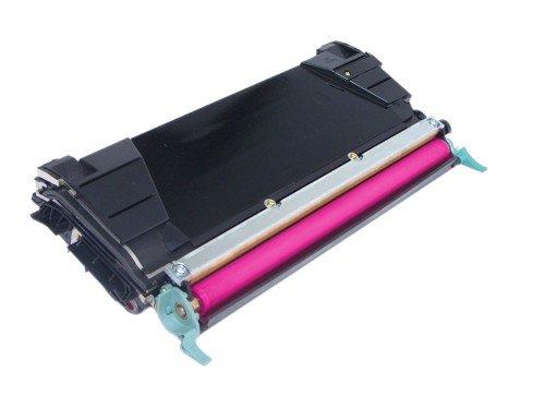 INKUTEN Replacement C5222MS Magenta Laser Toner Cartridge for Lexmark (C520/C522 Series Printers)