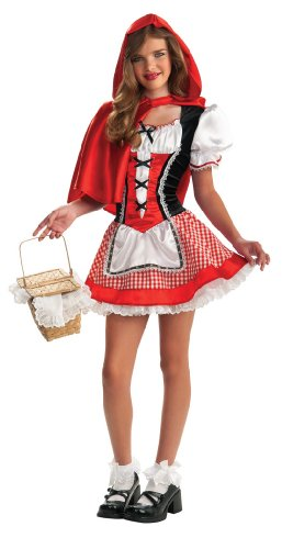 Rubie's Drama Queens Tween Red Riding Hood Costume