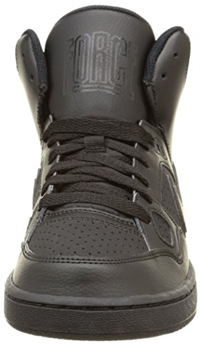 Nike Of Force Mid (GS) Zapatillas de Baloncesto, Niños Negro (Black / Black-Black)