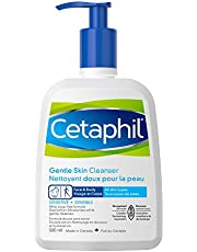 Cetaphil Gentle Skin Cleanser - Hydrating Face and Body Wash - Ideal For Sensitive Skin - Non-Irritating, Fragrance-Free - Dermatologist Recommended, 500ml