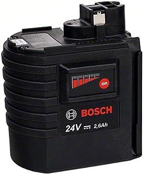 BOSCH 2607337298 - Batería enchufable HD 24V: 2,6Ah: NiMh