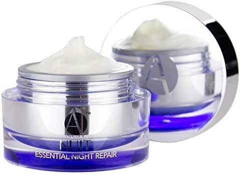 ANJALI MD Nuit - Brightening Anti-Aging Retinol Night Skincare Cream - Reduce Wrinkles, Sun Damage and Brown Spots