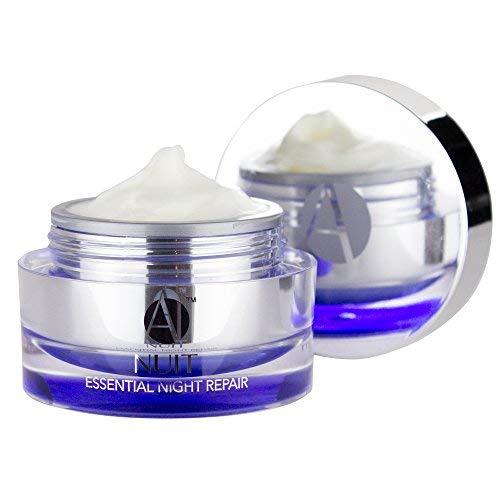 ANJALI MD Nuit - Brightening Anti-Aging Retinol Night Skincare Cream - Reduce Wrinkles, Sun Damage and Brown Spots