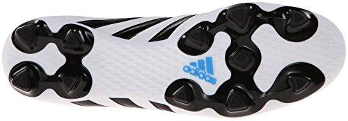 Adidas Performance Hommes 11questra Crampon De Football Pour Terrain Ferme Blanc / Noir / Bleu Solaire