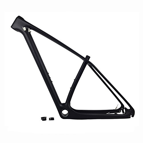 Fasteam 29er Ud Matt Carbon Fiber Mountain Bike Frame Carbon MTB Bicycle Frame 135x9 QR and 142x12mm Thru Axle Compatible