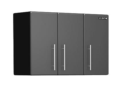 amazon com ulti mate garage 3 door wall hanging cabinet home kitchen rh amazon com Discount Garage Wall Cabinets Discount Garage Wall Cabinets