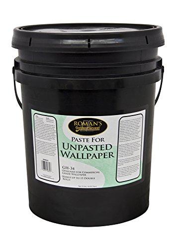 (Golden Harvest 209820 GH-34 5 gal Paste for Unpasted Wallpaper)