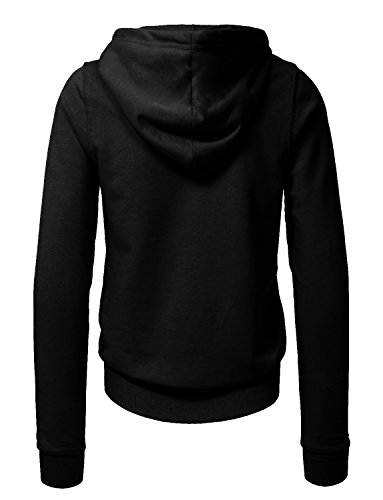 NE PEOPLE Women Basic Solid Comfortable Pullover Hoodie 12 Colors