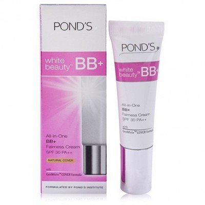 POND'S White Beauty All in one BB+ Fairness Cream SPF 30 PA++ - 9g(Pack Of 2) (Ponds White Beauty Blemish Balm Fairness Cream)