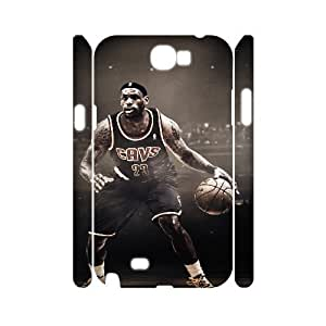 C-EUR LeBron James Customized Hard 3D Case For Samsung Galaxy Note 2 N7100 by Maris's Diary