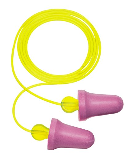 3M No-Touch Corded Push-to-Fit Earplugs, Hearing Conservation P2001 (Case of 400) by 3M Personal Protective Equipment