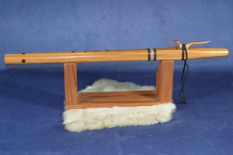 Key of F Western Cedar Native American style Flute by Stellar
