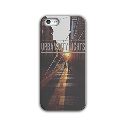 Light Street Photo City Case for iPhone, 5 / 5S Sun Non-Slip Cover - Slim Fit, Comfortable Grip, Protective Case by Wellcoda