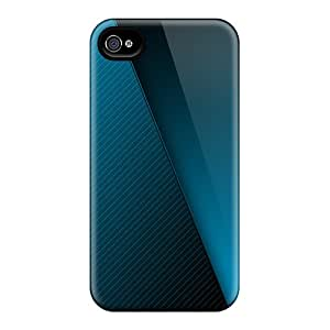 Ultra Slim Fit Hard TinaMacKenzie Cases Covers Specially Made For Iphone 6- Blue Gradient