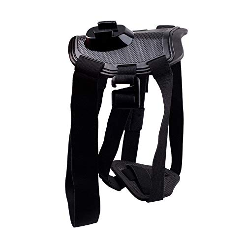 Opteka Dog Mount Adjustable Harness for GoPro Hero 7/6/5/5 Session/4 Session/4/3+/3/2/1 and Yi Action (Best Gopro Harness For Dogs)