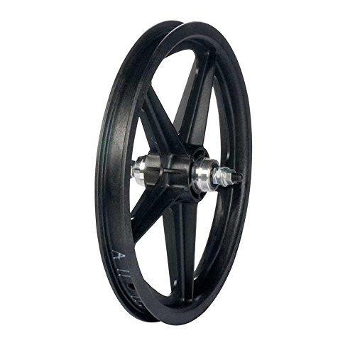 Skyway, Tuff II 16'' 5 Spoke, Wheel, Rear, Black, 16'' / 305, Bolt-on, 110mm, Rim, Freewheel by Skyway