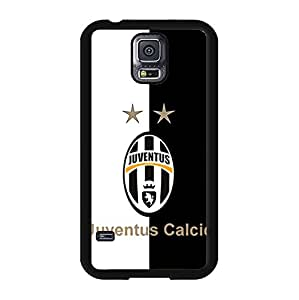 Samsung Galaxy S5 I9600 Phone Case Cover,Classical Official Juventus FC Logo Hard Plastic Phone Case for Samsung Galaxy S5 I9600