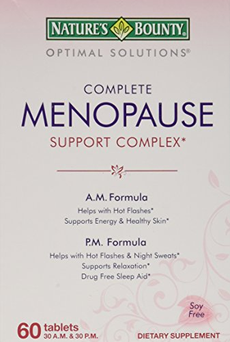 Natures Bounty Optimal Solutions Menopause product image