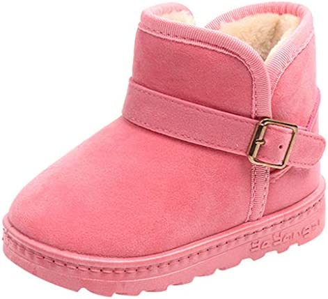 Clearance Sale!Cuekondy Baby Girls Boys Casual Shoes Cute Cartoon Cotton Newborn Infant Toddler Winter Plush Warm Boots
