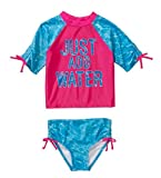 OP Baby Toddler Girl 2-piece Swimwear Rashguard Set (4T)