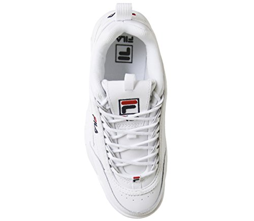 White french Disruptor french Fila Navy Donna Premium Red Sneaker Bianco Ii 1AYWxB6q