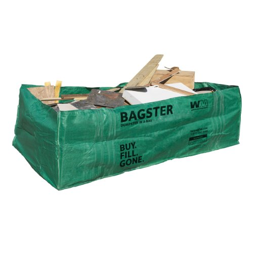 BAGSTER 3CUYD Dumpster in a Bag, Green