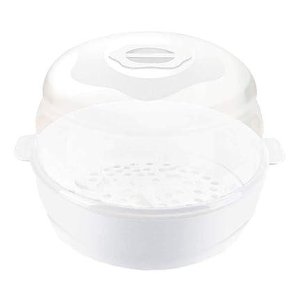 Hamkaw 4 Kit de Esterilizador Biberon Microondas, Esterilizador de ...