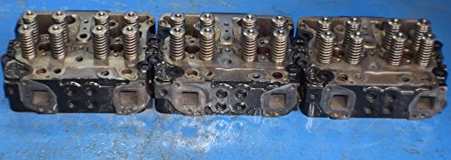 3 x CUMMINS N14 SERIES CYLINDER HEAD 3078360 FREIGHTLINER NO CORE --->> 7789