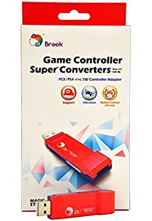 CtrlDepot Brook Super Converter Compatible for PS3/PS4 to Nintendo Switch/Wii U USB