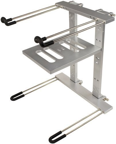 Ultimate Support JSLPT400S Multi-Purpose Laptop/DJ Stand with Stand Alone Base (Dj Mixer Laptop)
