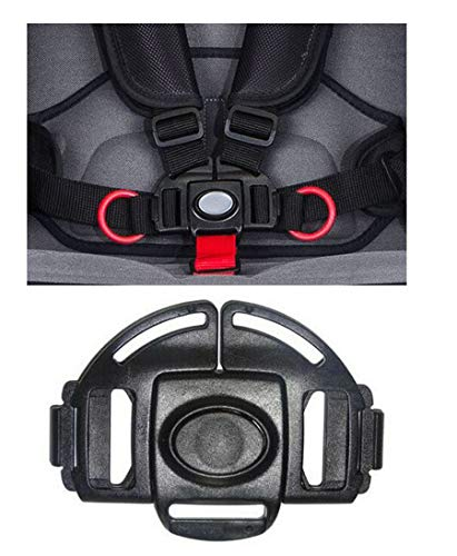 Stroller and Car Seat Replacement Parts/Accessories to fit Britax Products for Babies, Toddlers, and Children (5 Point Buckle for Stroller) from Ponini