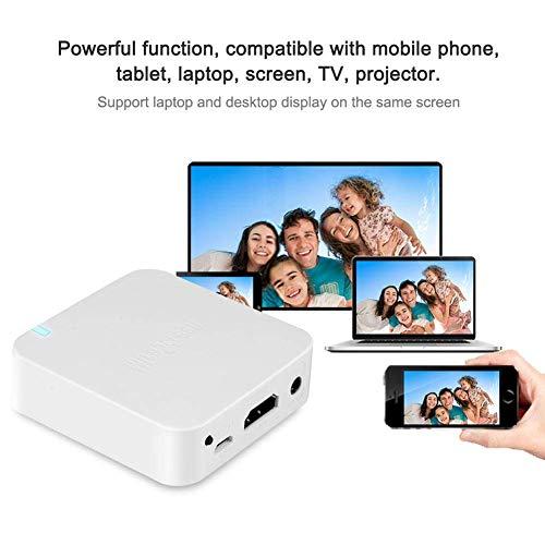 Car WiFi Display Box, fosa Wireless AV+HDMI Screen Mirroring Mirror Box Airplay Mirroring from Smart Phones to Car…