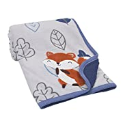 Lambs & Ivy(R) Little Campers Navy Blue Blanket