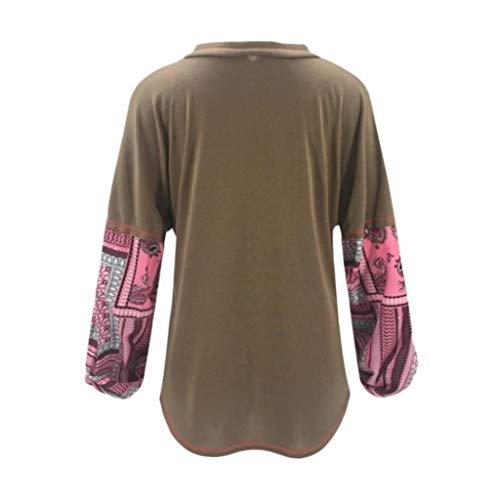 DEELIN Patchwork Style Femmes Mode Nouveau Bouton Cardigan Tricot q7qrIPxw