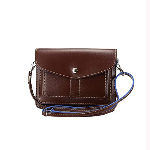Yinoinge Universal Clutch Wallet Handbags suitable for Iphone8 Iphone8 Plus IphoneX BlackBerry DTEK60 DTEK50 Motion KEY2 Samsung Galaxy S9 S9 Plus HTC U12plus LG G6 G6Plus G7 LGV35 (Brown)