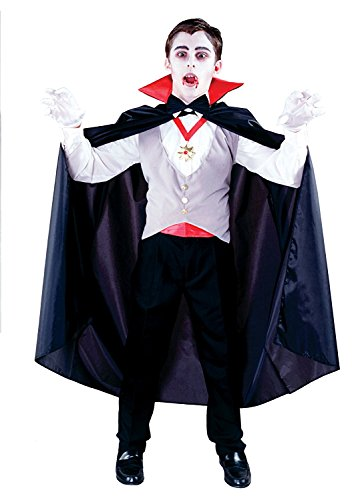 Vampire Costumes For Boys (Classic Vampire Child Costume (One Size))