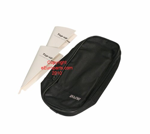 Genuine BMW Spare Top Off Oil Bag Pouch Kit For Any BMW Model