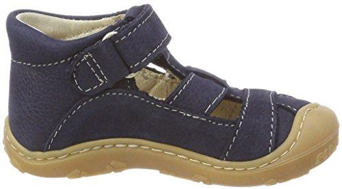 Ricosta Unisex-Kinder Lani Hohe Sneaker Blau (See)