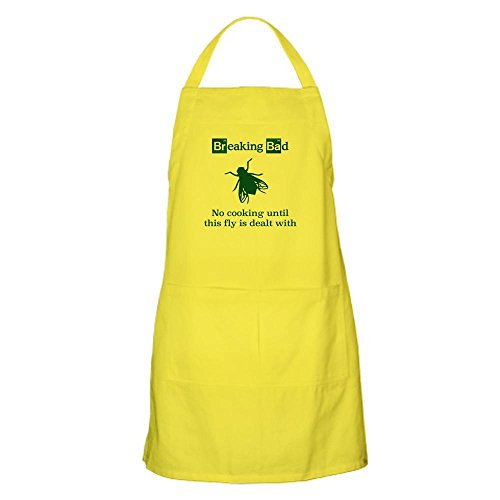 CafePress Breaking Bad Fly Apron Kitchen Apron with Pockets, Grilling Apron, Baking Apron