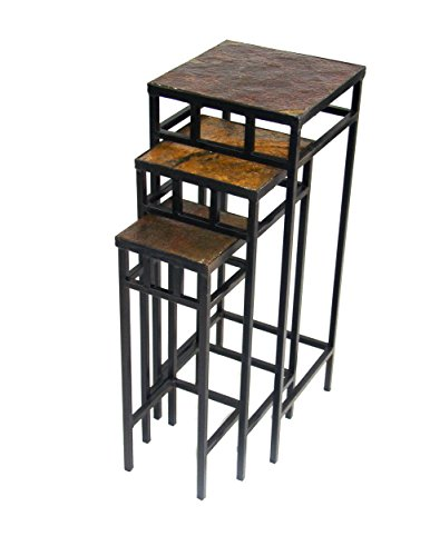 Square Iron Plant Stands - 6