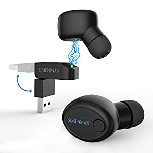 simenmax bluetooth headset headphone invisible. Black Bedroom Furniture Sets. Home Design Ideas