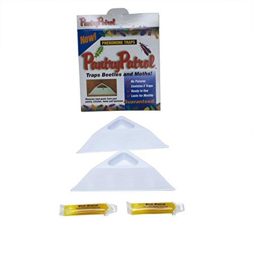 Pantry Patrol-set of 2 Traps,pheromone Pantry Pest Trap, (Moth Lure)