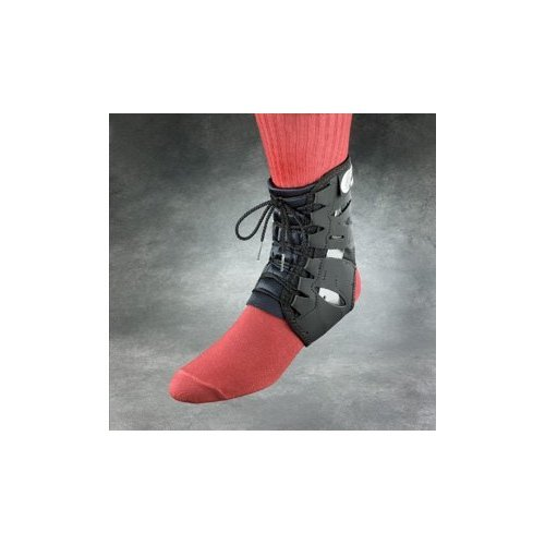 Swede-O 22811 Tarsal Lok Ankle Brace, Built-in Stabilizer, X-Small, Black ()